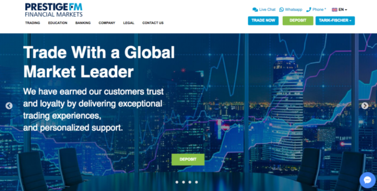 trade with a global market leader